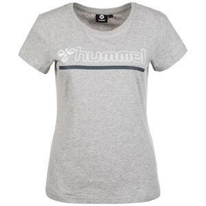 Hml Perla T-Shirt Damen, grau / blau / weiß, zoom bei OUTFITTER Online