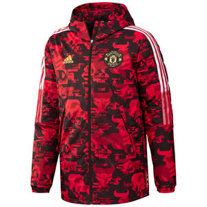 Manchester United Chinese New Year Padded Jacke Herren, rot / schwarz, zoom bei OUTFITTER Online