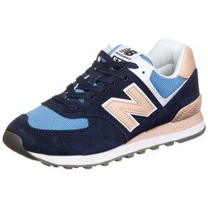 WL574-B Sneaker Damen, blau / pink, zoom bei OUTFITTER Online