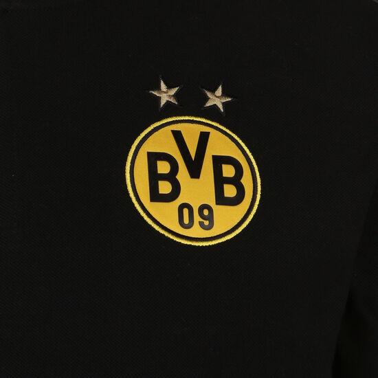 Borussia Dortmund Casuals Poloshirt Herren, schwarz / gelb, zoom bei OUTFITTER Online