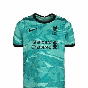 FC Liverpool Trikot Away Stadium 2020/2021 Kinder, türkis / schwarz, zoom bei OUTFITTER Online