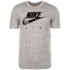 Sportswear T-Shirt Herren, hellgrau / schwarz, zoom bei OUTFITTER Online