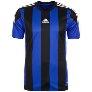 Striped 15 Fußballtrikot Herren, blau / schwarz, zoom bei OUTFITTER Online