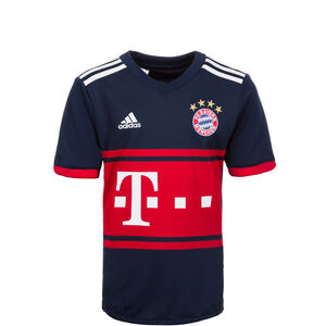 FC Bayern München Trikot Away 2017/2018 Kinder, Blau, zoom bei OUTFITTER Online