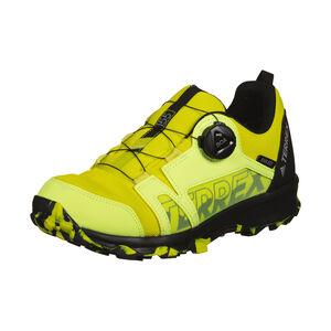 Terrex Agravic Boa Trail Laufschuh Kinder, gelb / schwarz, zoom bei OUTFITTER Online