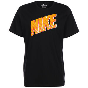 Block T-Shirt Herren, schwarz / gold, zoom bei OUTFITTER Online