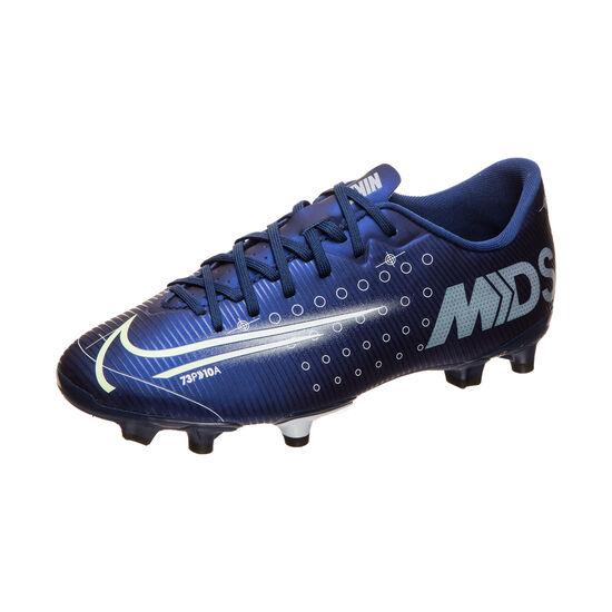 Mercurial Vapor 13 Academy MDS MG Fußballschuh Kinder, blau / gelb, zoom bei OUTFITTER Online
