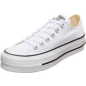 Chuck Taylor All Star Lift OX Sneaker, weiß / schwarz, zoom bei OUTFITTER Online