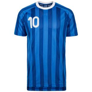Tanip Fußballshirt Herren, blau / weiß, zoom bei OUTFITTER Online