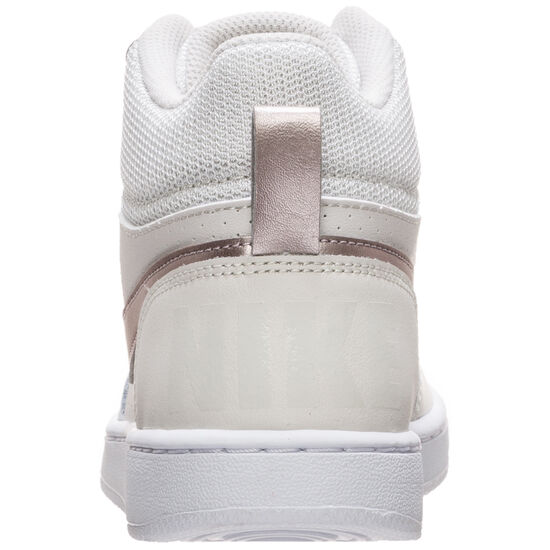 Court Borough Mid Sneaker Kinder, grau / rot, zoom bei OUTFITTER Online