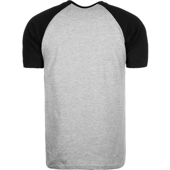 Raglan Contrast T-Shirt Herren, grau / schwarz, zoom bei OUTFITTER Online