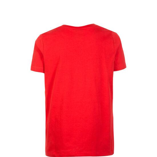 Club19 TM Trainingsshirt Kinder, rot / weiß, zoom bei OUTFITTER Online