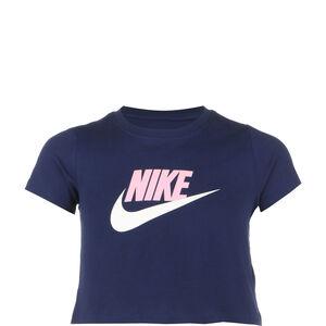 Crop Futura T-Shirt Kinder, blau / altrosa, zoom bei OUTFITTER Online