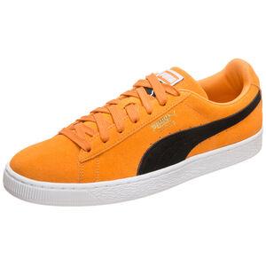 Suede Classic Sneaker Herren, orange / schwarz, zoom bei OUTFITTER Online