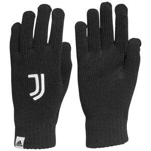 Juventus Turin Handschuh, schwarz / weiß, zoom bei OUTFITTER Online