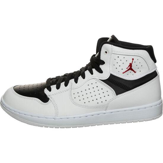Jordan Access Basketballschuh Herren, weiß / schwarz, zoom bei OUTFITTER Online