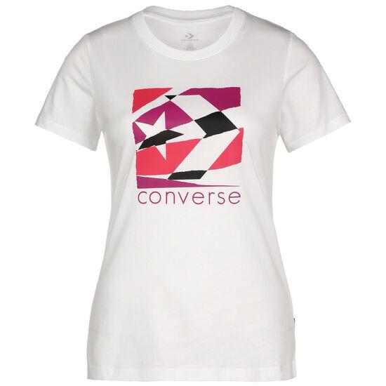 Torn Classic T-Shirt Damen, weiß / aubergine, zoom bei OUTFITTER Online