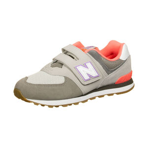 YV574-M Sneaker Kinder, grau, zoom bei OUTFITTER Online