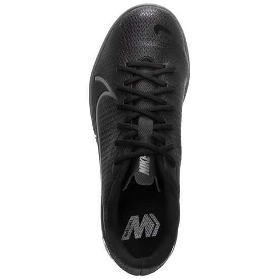 Mercurial Vapor XIII Academy Indoor Fußballschuh Kinder, schwarz / grau, zoom bei OUTFITTER Online