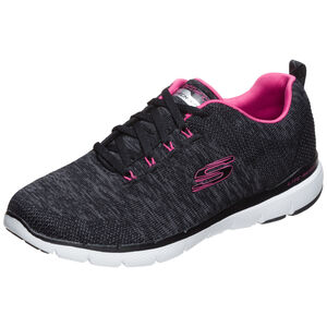 Flex Appeal 3.0 Trainingsschuhe Damen, schwarz / pink, zoom bei OUTFITTER Online