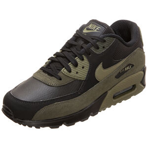 Air Max 90 Leather Sneaker Herren, Schwarz, zoom bei OUTFITTER Online