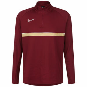 Academy 21 Dry Drill Longsleeve Herren, rot / gold, zoom bei OUTFITTER Online