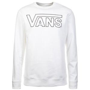 Classic Crew Fleece Sweatshirt Herren, weiß / schwarz, zoom bei OUTFITTER Online