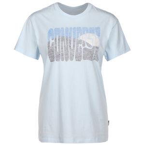 Mountain Reverse Print T-Shirt Damen, blau, zoom bei OUTFITTER Online