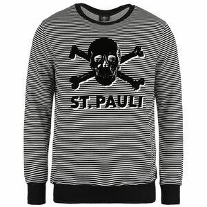 Stripe Terry Sweatshirt Herren, schwarz / weiß, zoom bei OUTFITTER Online