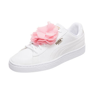 Basket Flower Sneaker Kinder, weiß / pink, zoom bei OUTFITTER Online