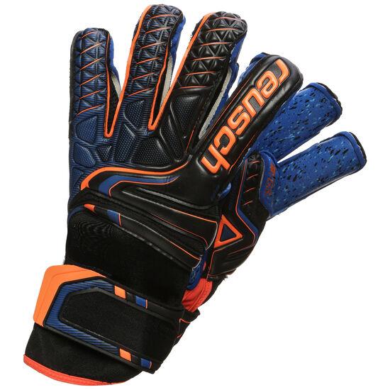 Attrakt G3 Fusion Evolution Finger Support Torwarthandschuh, schwarz / orange, zoom bei OUTFITTER Online