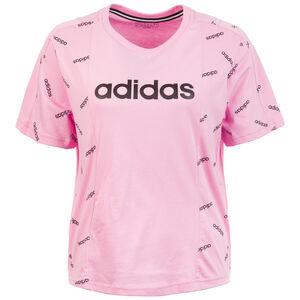 AOP T-Shirt Damen, rosa / schwarz, zoom bei OUTFITTER Online