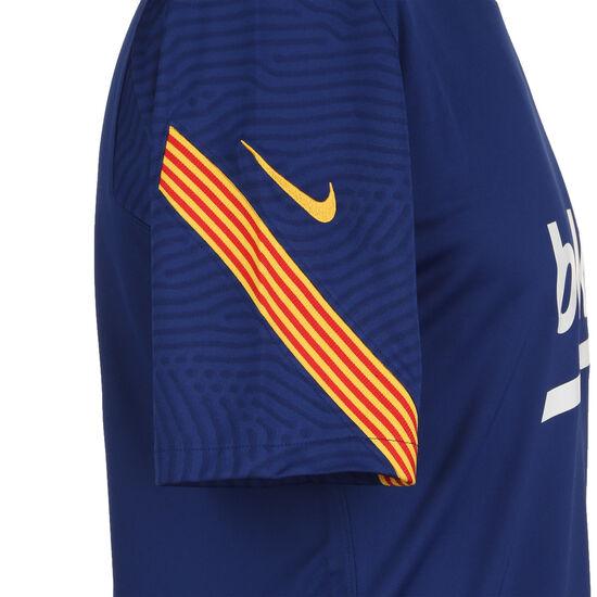 FC Barcelona Breathe Strike Trainingsshirt Herren, dunkelblau / gelb, zoom bei OUTFITTER Online