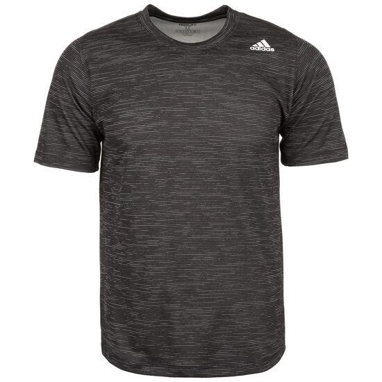 FreeLift Tech Striped Trainingsshirt Herren, schwarz, zoom bei OUTFITTER Online