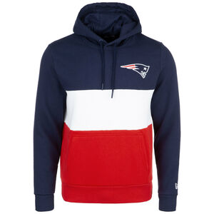 NFL Colour Block New England Patriots Kapuzenpullover Herren, dunkelblau, zoom bei OUTFITTER Online