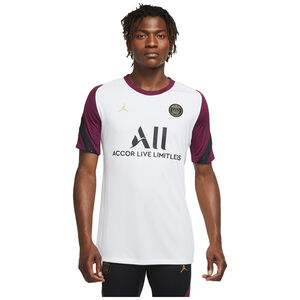 Paris St.-Germain Breathe Strike Trainingsshirt Herren, weiß / bordeaux, zoom bei OUTFITTER Online