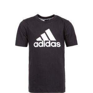 Must Have Badge of Sport T-Shirt Kinder, schwarz / weiß, zoom bei OUTFITTER Online