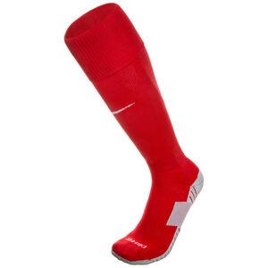 Matchfit Cushioned Sockenstutzen, rot / weiß, zoom bei OUTFITTER Online
