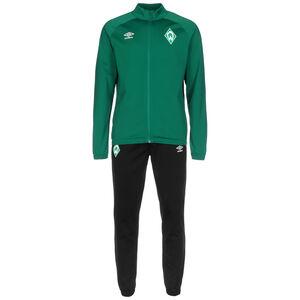 SV Werder Bremen Knit Trainingsanzug Herren, grün / schwarz, zoom bei OUTFITTER Online