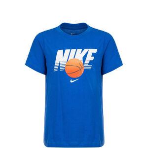 Basketball Ball T-Shirt Kinder, blau / weiß, zoom bei OUTFITTER Online