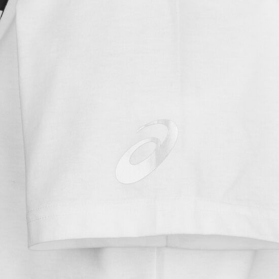 Katakana Graphic Laufshirt Damen, weiß / schwarz, zoom bei OUTFITTER Online