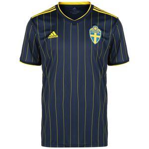 Schweden Trikot Away EM 2021 Herren, dunkelblau / gelb, zoom bei OUTFITTER Online