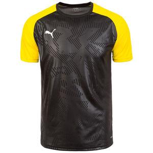 Cup Trainingsshirt Herren, schwarz / gelb, zoom bei OUTFITTER Online