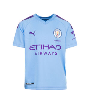 Manchester City Trikot Home 2019/2020 Kinder, hellblau / lila, zoom bei OUTFITTER Online