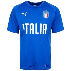 FIGC Italien Trainingsshirt Herren, blau, zoom bei OUTFITTER Online