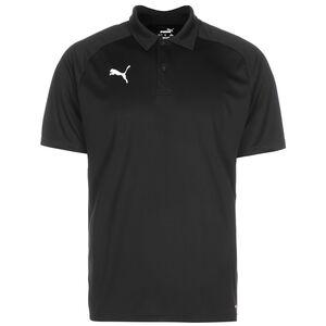 Liga Sideline Poloshirt Herren, schwarz / weiß, zoom bei OUTFITTER Online
