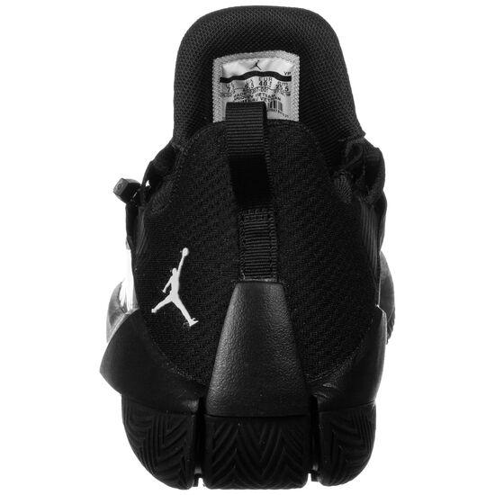 Jumpman Hustle Basketballschuh Herren, schwarz / weiß, zoom bei OUTFITTER Online