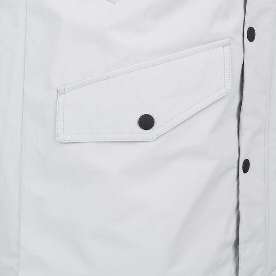 Microfleece Hooded Technical Parka Herren, hellgrau, zoom bei OUTFITTER Online