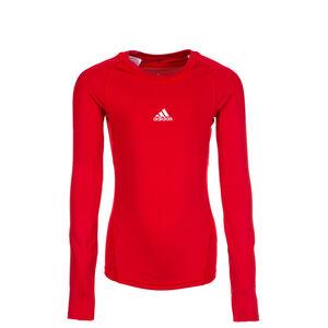 AlphaSkin Trainingsshirt Kinder, rot, zoom bei OUTFITTER Online