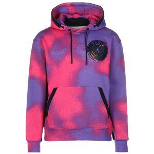 Paris St.-Germain AOP Fleece Kapuzenpullover Herren, pink / lila, zoom bei OUTFITTER Online